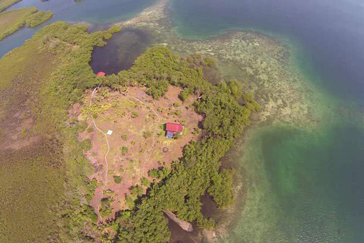 Ian's island in Bocas del Toro, Panama (2014)