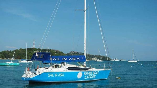Two weeks of sailing theory and practice ahead with Thailand-based SIA - Sail In Asia
