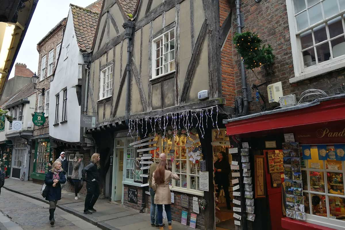 The Shambles, York City, UK
