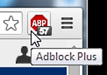 Adblock Plus protected privacy 57 times on mlb.com