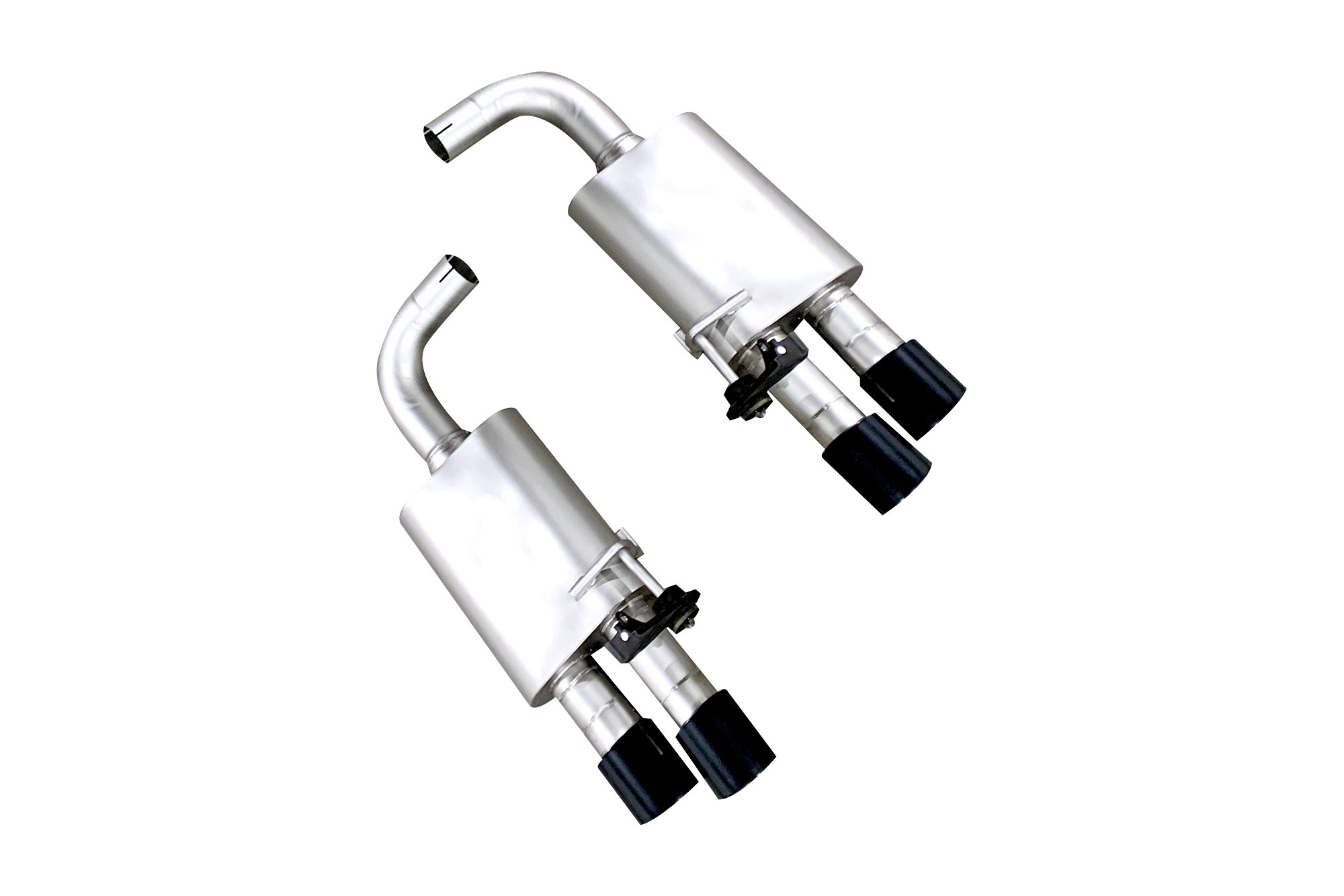 Ford Mustang Gt 18 19 True Dual Cat Back Exhaust