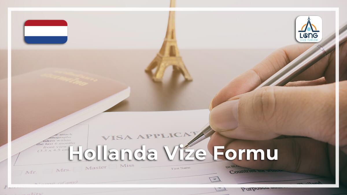 Vize Formu Hollanda