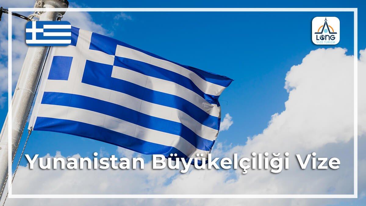 Büyükelçiliği Vize Yunanistan