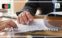 Afganistan Vizesi Randevu