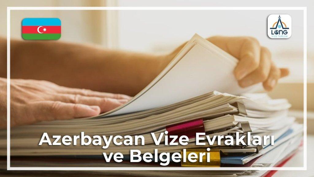 Belgeleri Ve Evrakları Vize Azerbaycan