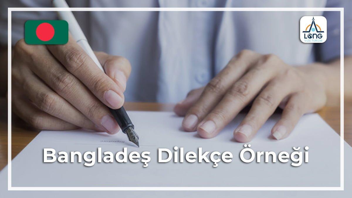 Dilekçe Örneği Bangladeş