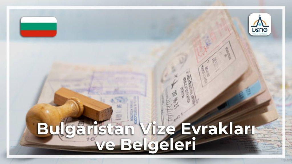 Belgeleri Ve Evrakları Vize Bulgaristan