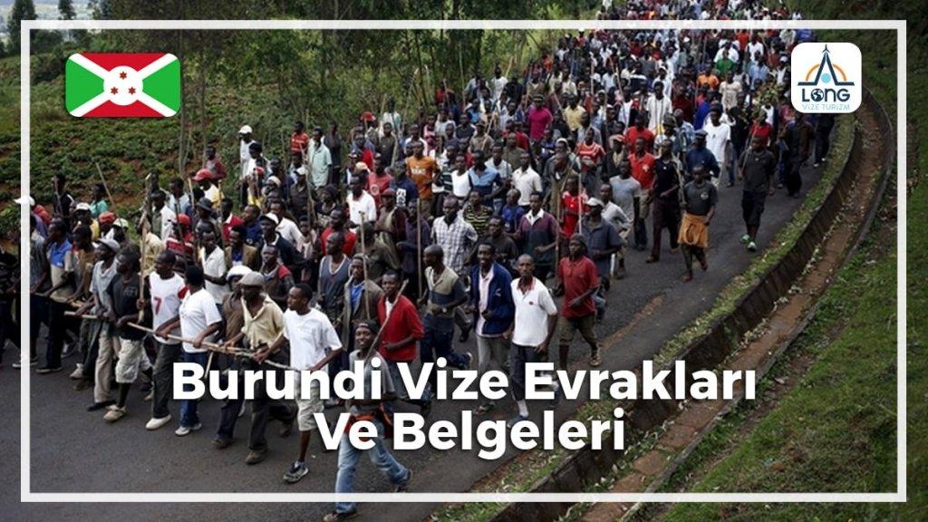 Vize Evrakları Ve Belgeleri Burundi