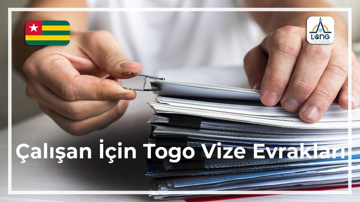 Togo Vize Evrakları Çalışan İçin