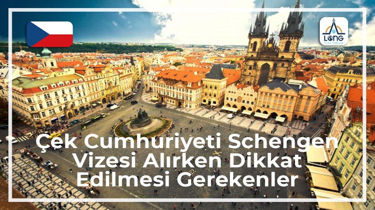 Schengen Vizesi Alırken Dikkat Edilmesi Gerekenler Çek Cumhuriyeti