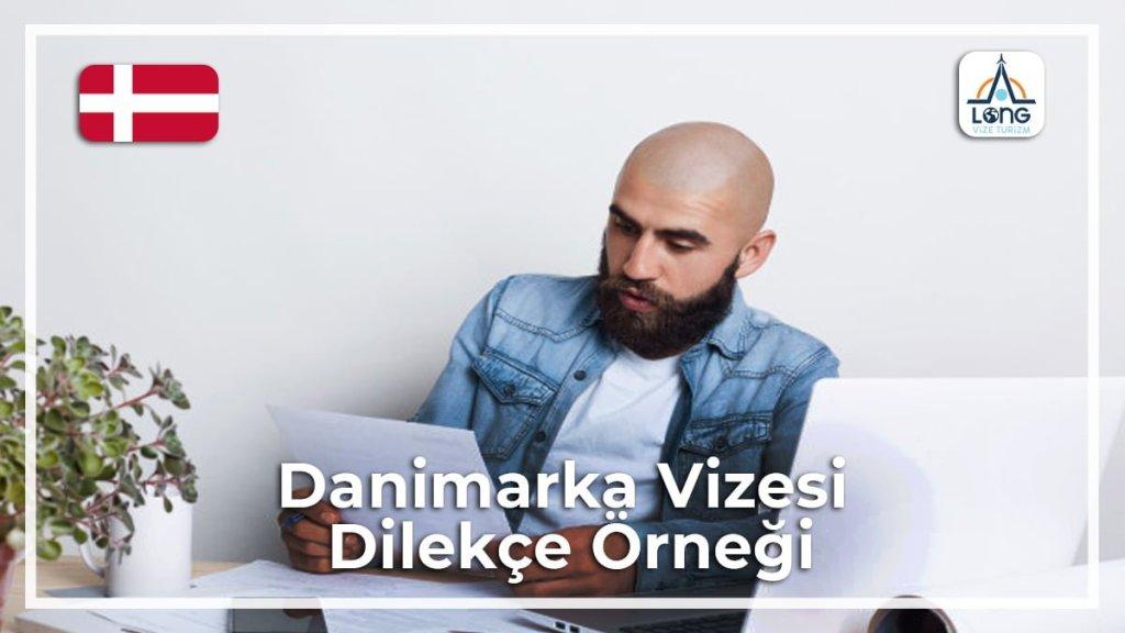 Vizesi Dilekçe Örneği Danimarka