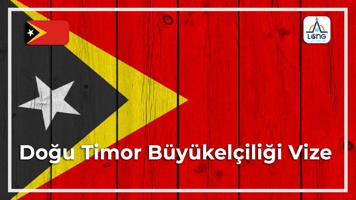 Büyükelçiliği Vize Doğu Timor