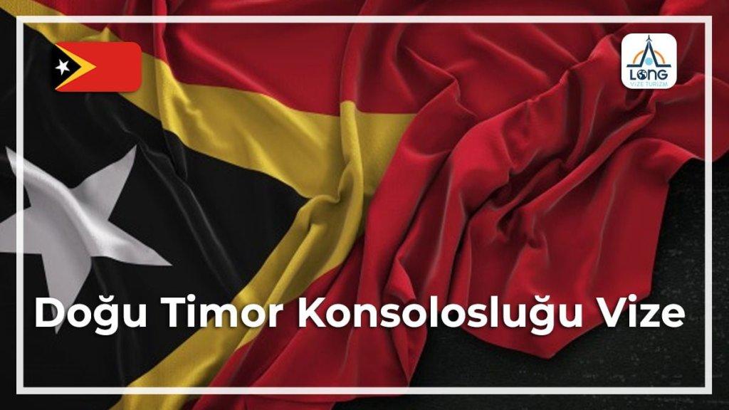 Konsolosluğu Vize Doğu Timor