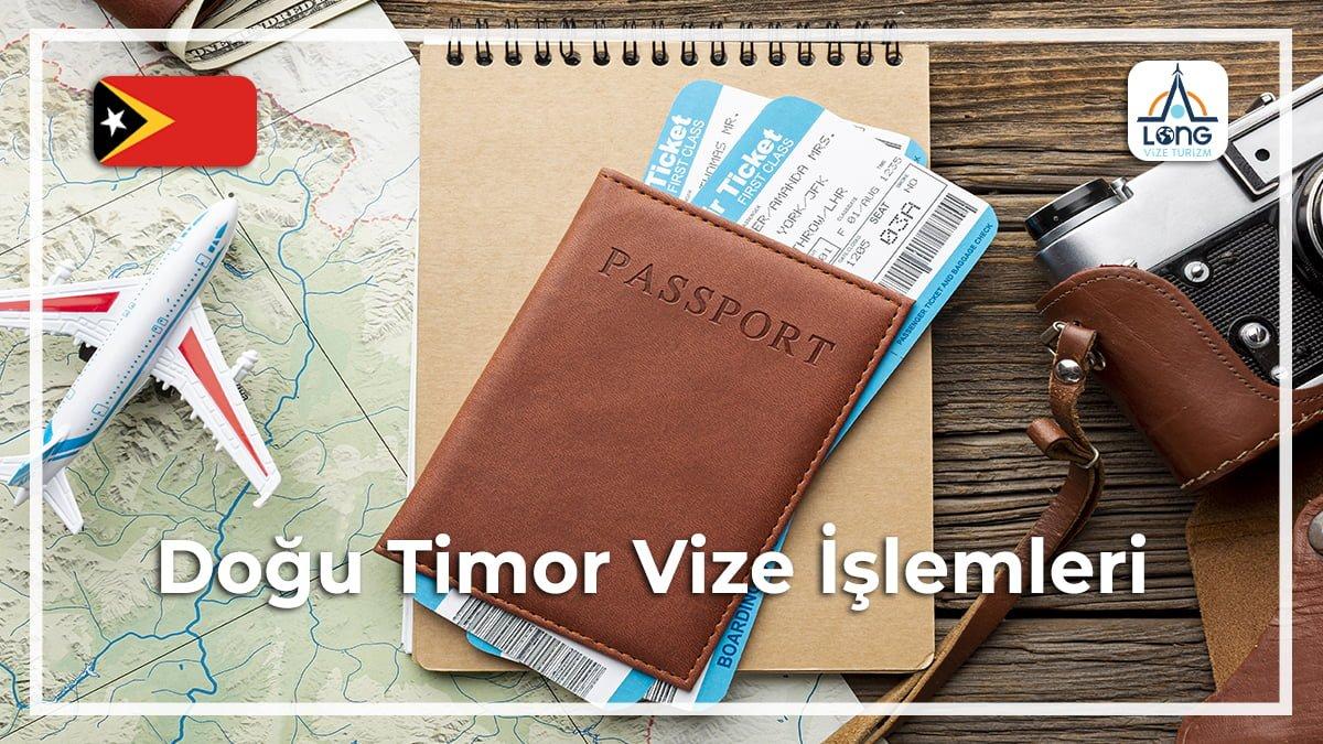 Vize İşlemleri Doğu Timor