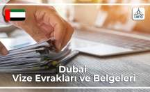Dubai Vizesi İçin Gerekli Belgeler Ve Evraklar