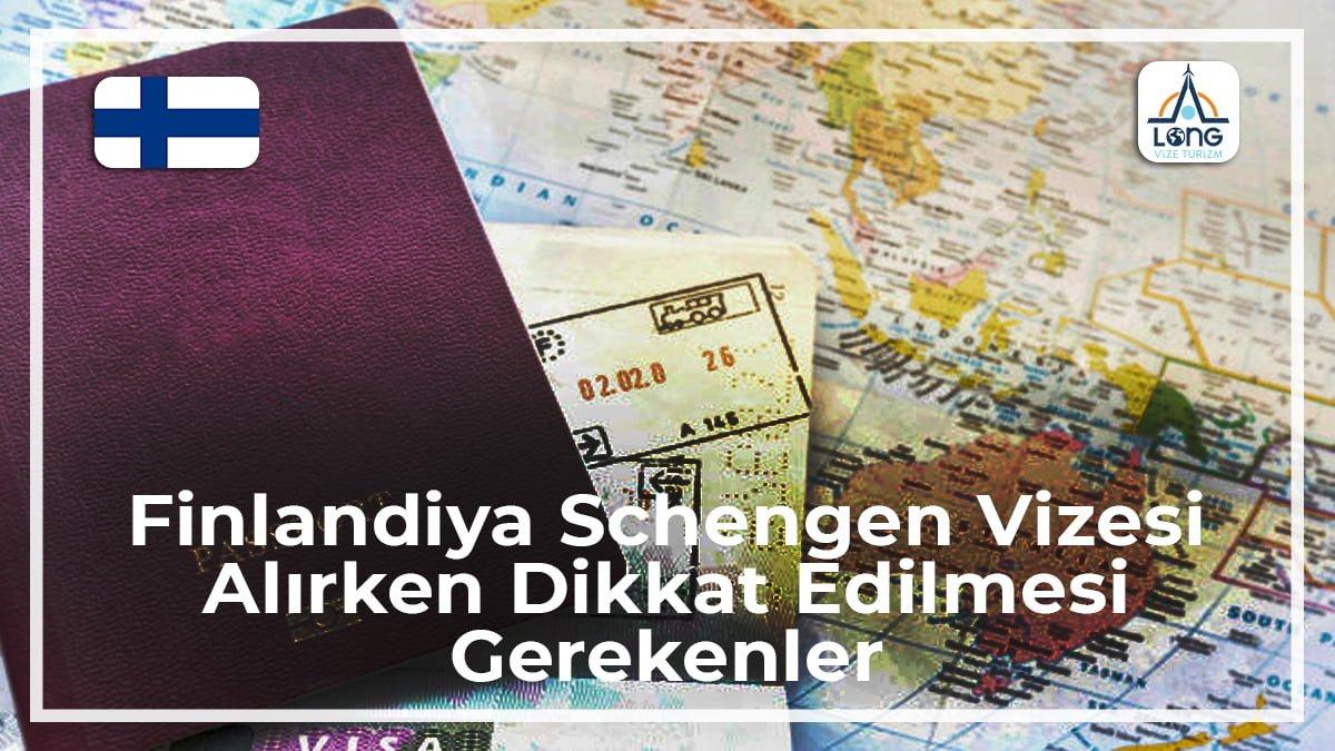 Schengen Vizesi Alırken Dikkat Edilmesi Gerekenler Finlandiya