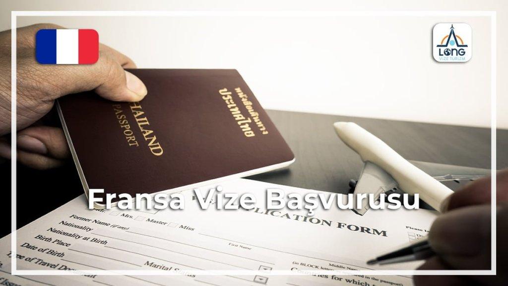 Vize Başvurusu Fransa