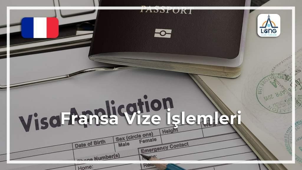 Vize İşlemleri Fransa