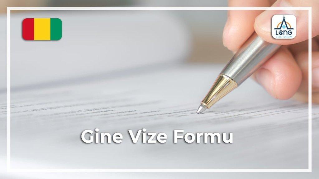 Vize Formu Gine