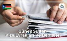 Güney Sudan Vizesi İçin Gerekli Belgeler Ve Evraklar