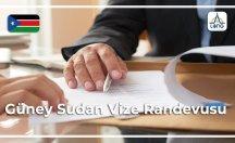 Güney Sudan Vize Randevusu