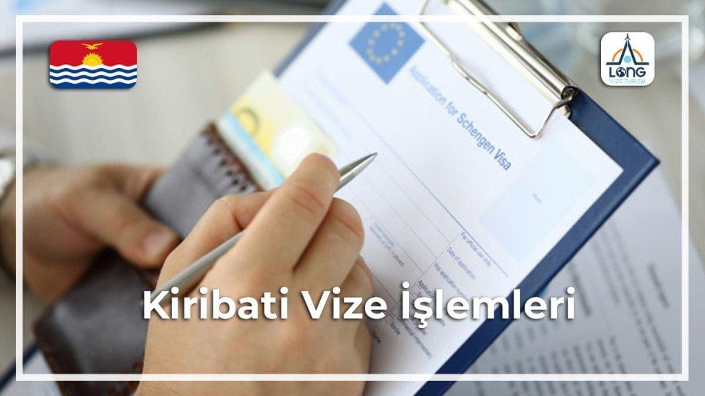 Vize İşlemleri Kiribati