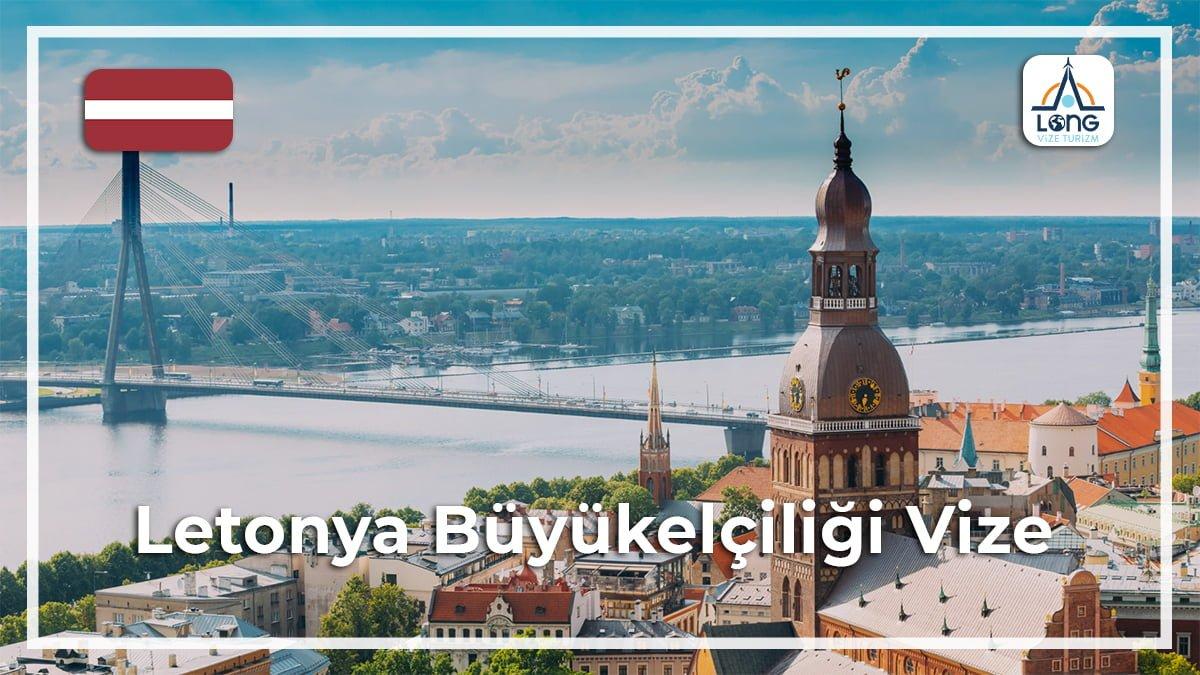 Büyükelçiliği Vize Letonya