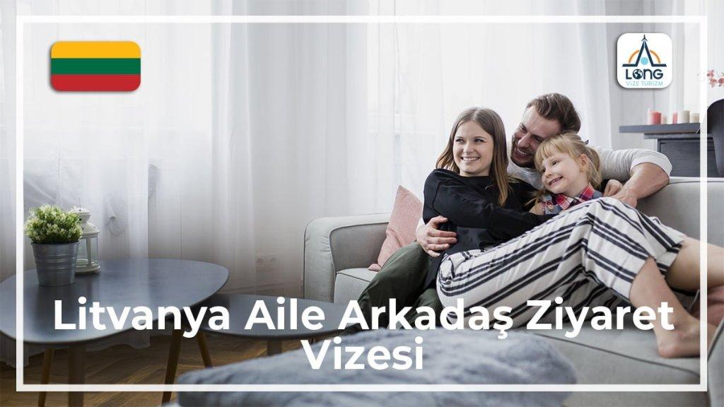 Aile Arkadaş Ziyareti Vizesi Litvanya