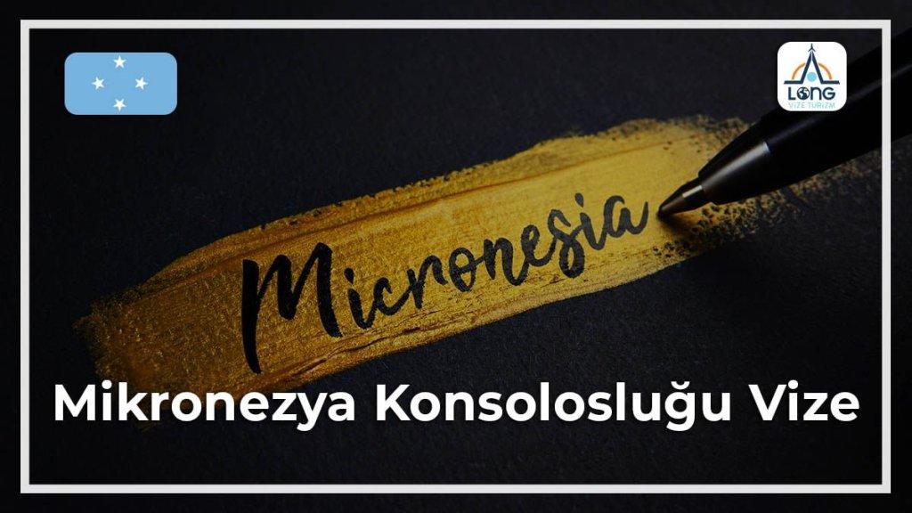 Konsolosluğu Vize Mikronezya
