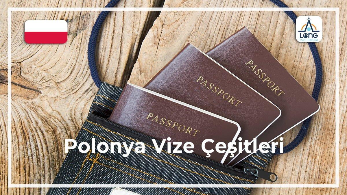 Vize Çeşitleri Polonya