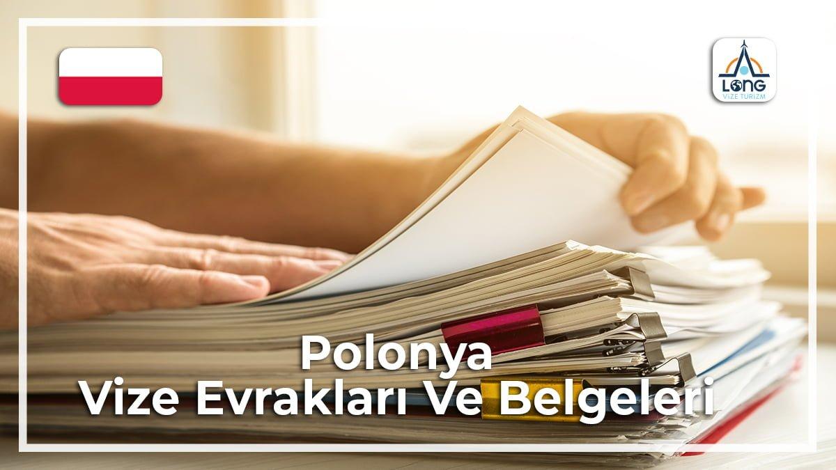 Vize Evrakları Ve Belgeleri Polonya