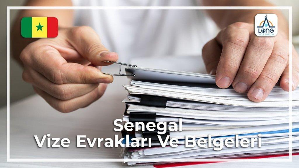 Vize Evrakları Ve Belgeleri Senegal