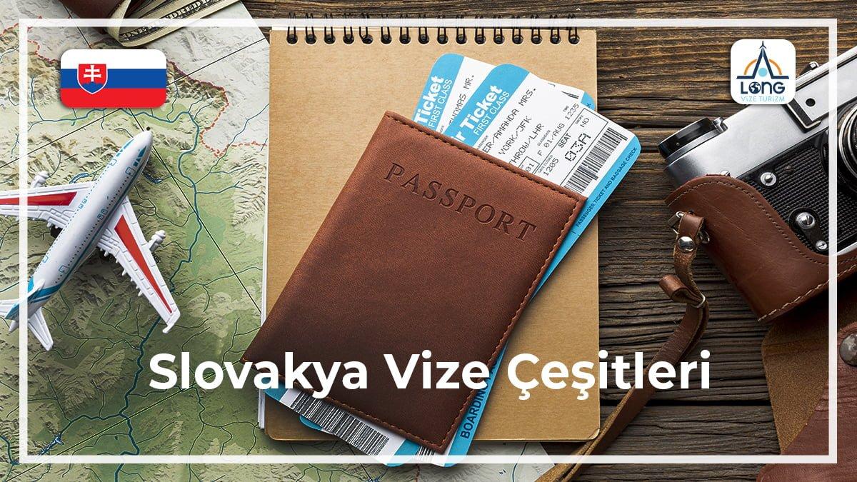 Vize Çeşitleri Slovakya