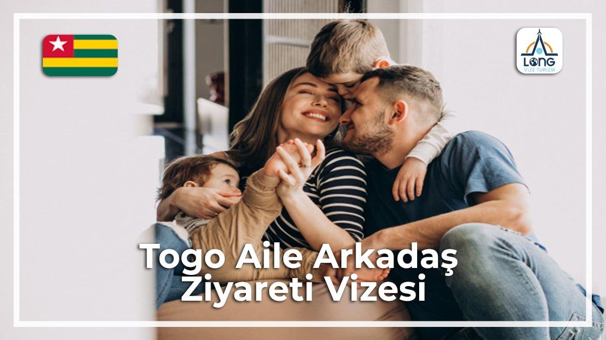 Aile Arkadaş Ziyareti Vizesi Togo