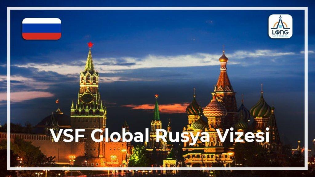 VFS Global Vizesi Rusya
