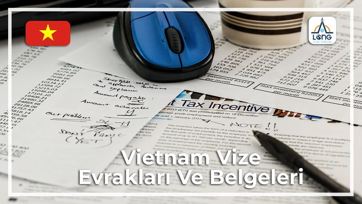 Vize Evrakları Ve Belgeleri Vietnam