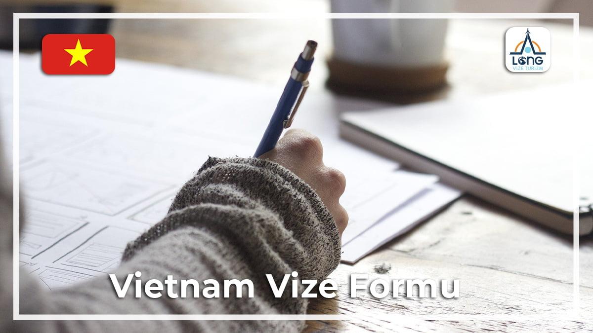 Vize Formu Vietnam