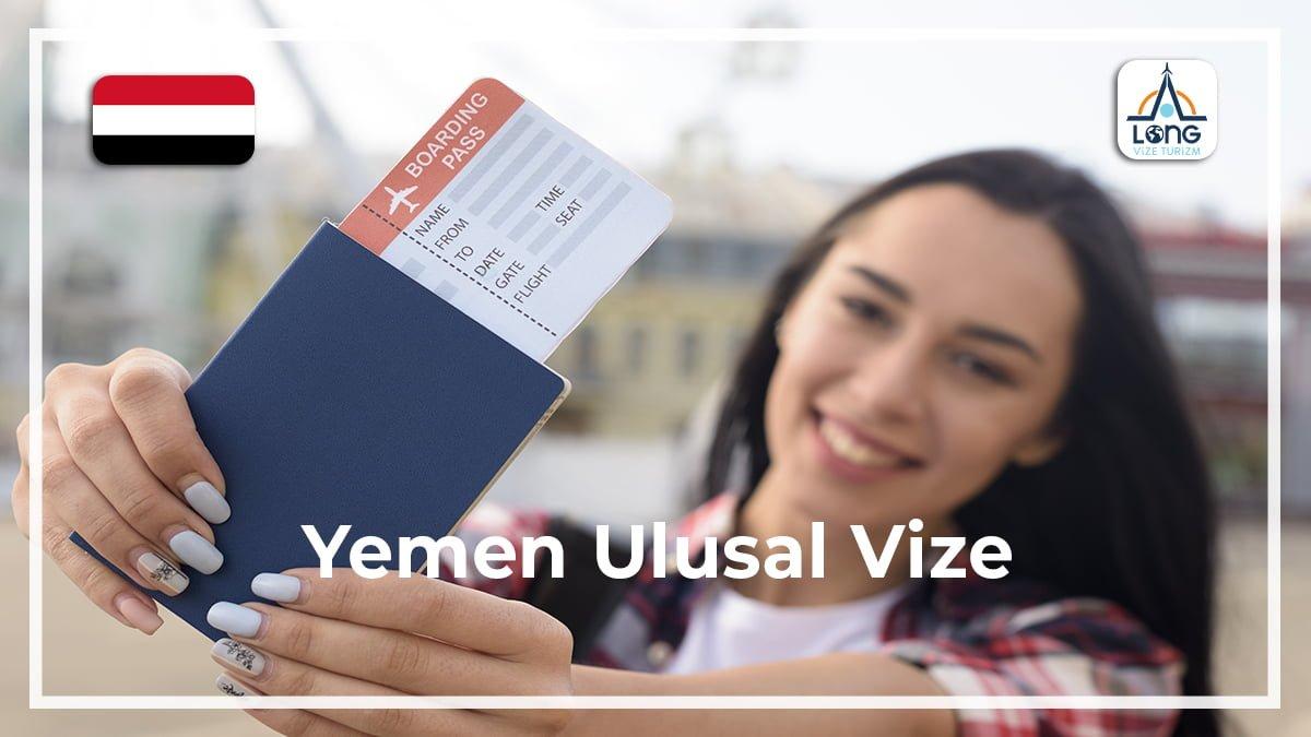 Ulusal Vize Yemen