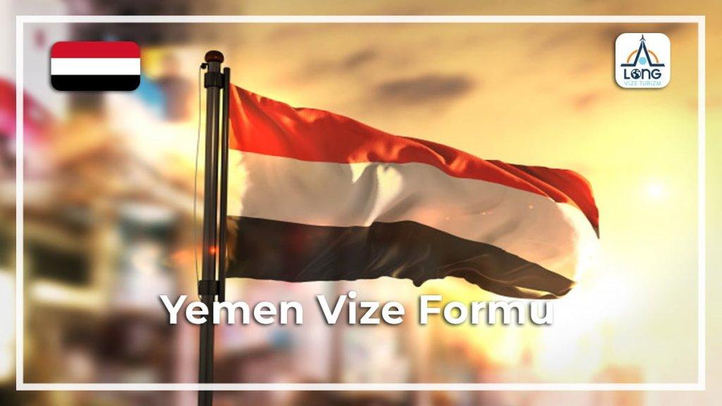 Formu Vize Yemen