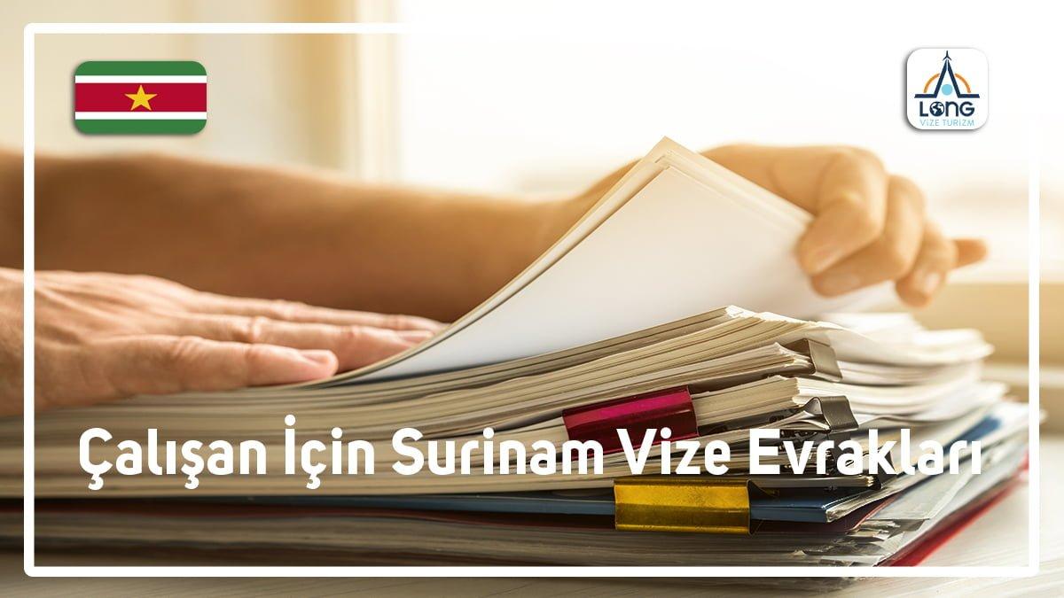 Vize Evrakları Çalışan İçin Surinam