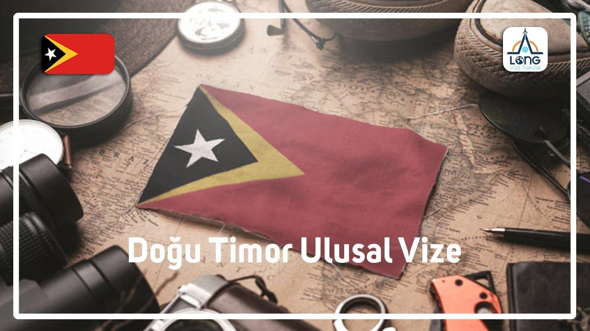 Ulusal Vize Doğu Timor