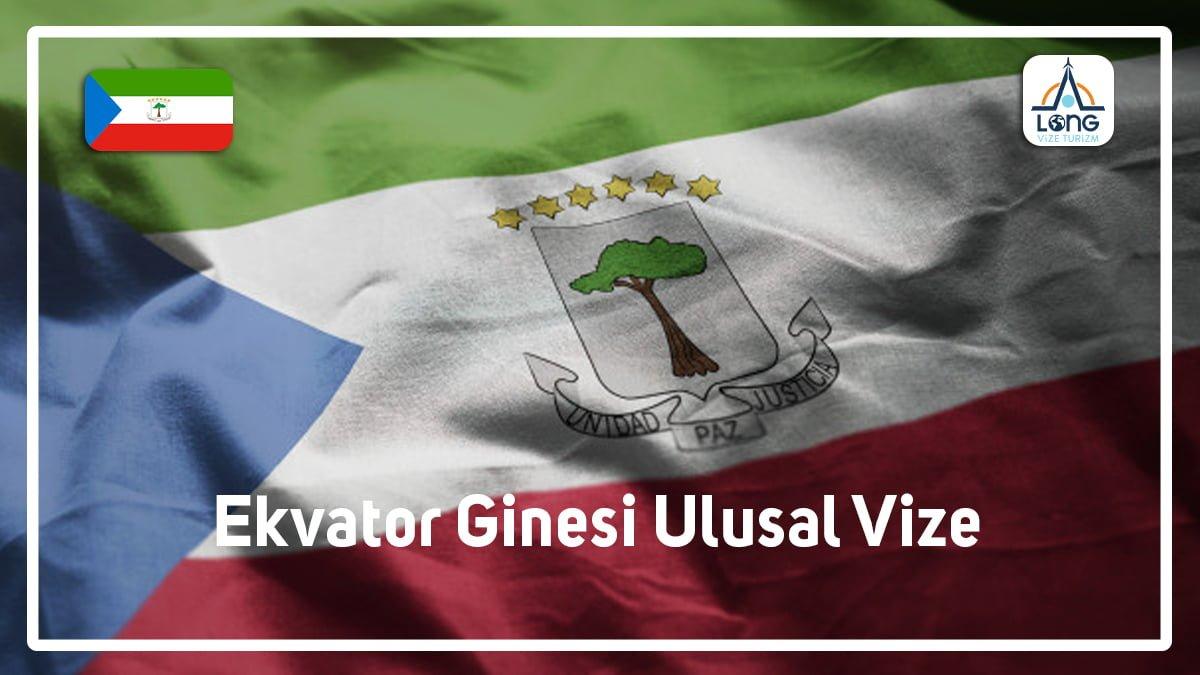 Ulusal Vize Ekvator Ginesi