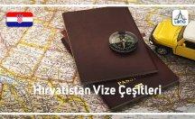 Hırvatistan Vize Çeşitleri