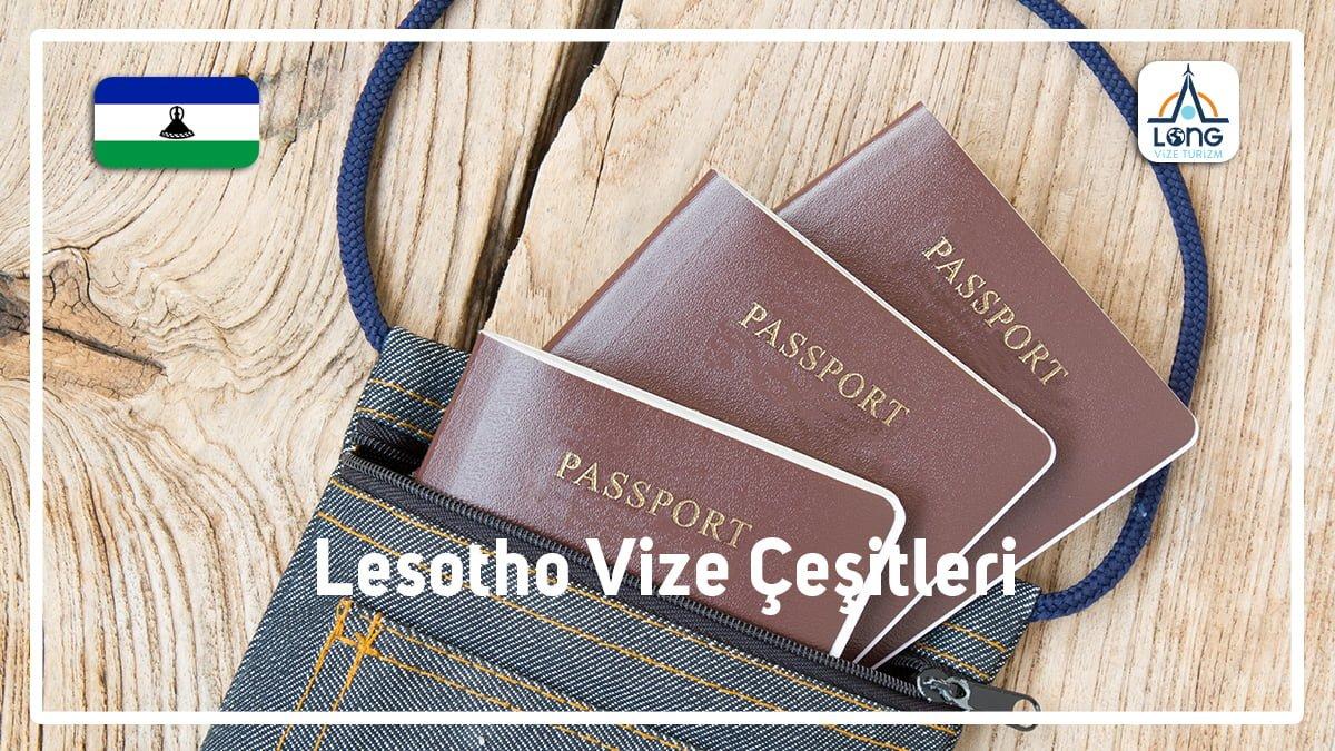 Vize Çeşitleri Lesotho