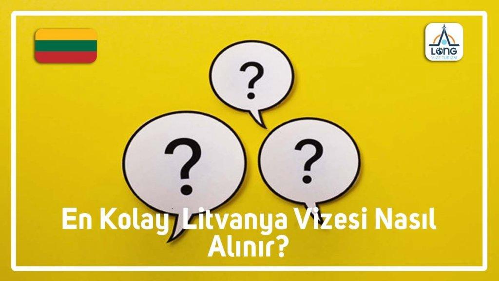 Litvanya Vizesi En Kolay Nasıl Alınır