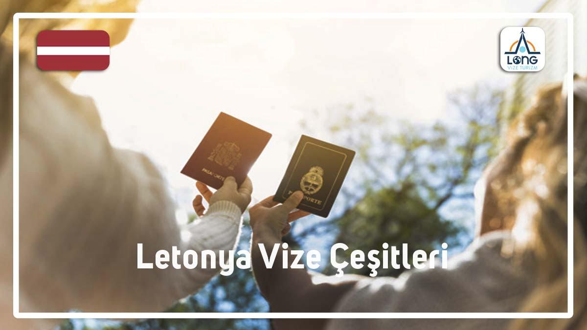 Vize Çeşitleri Letonya