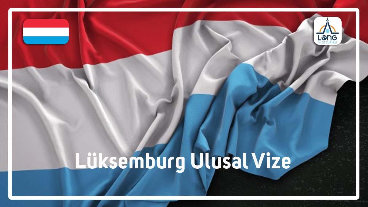 Ulusal Vize Lüksemburg