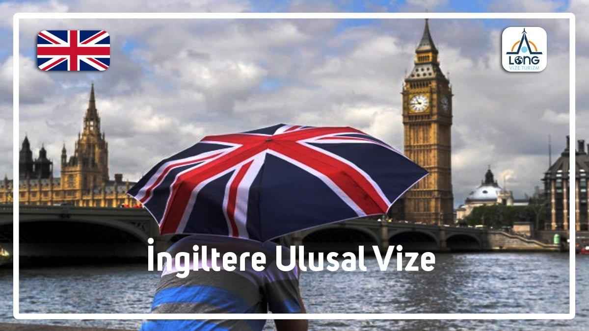 Ulusal Vize İngiltere