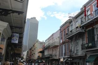 Street in downtown New Orleans, LA