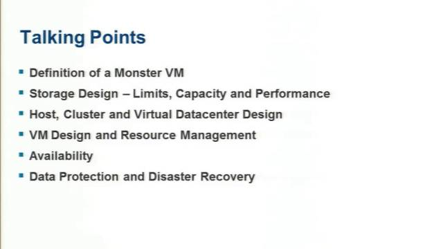 Master the Monster VM Performance in Your Software-Defined Datacenter at VMworld 2014